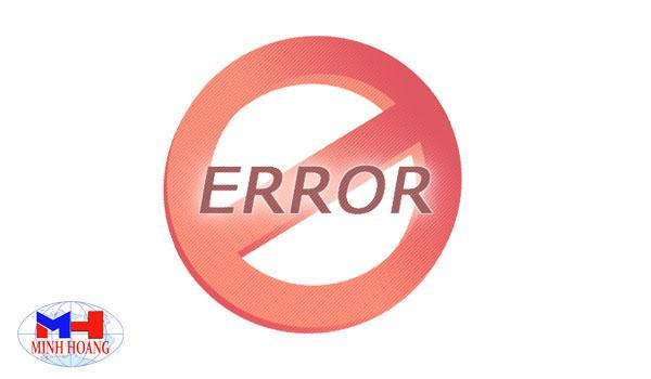 Những lỗi thường gặp của cân điện tử